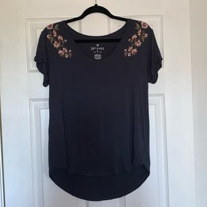 AEO Soft & Sexy Floral Tee